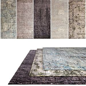 中式地毯组合模型