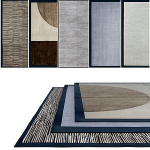 现代地毯组合模型