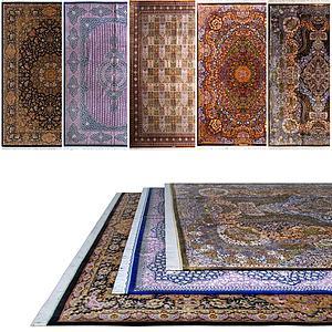 中式地毯模型