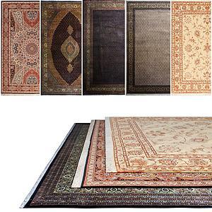 现代地毯模型