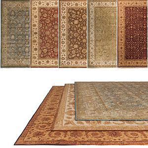 地毯组合3d模型