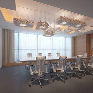 现代时尚办公室模型