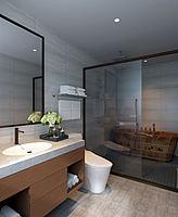 中式卫生间3d模型