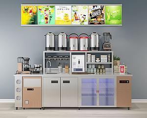 饮料机现代厨房用品3d模型