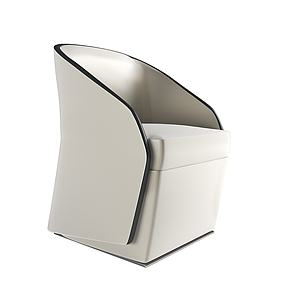 现代创意沙发椅模型