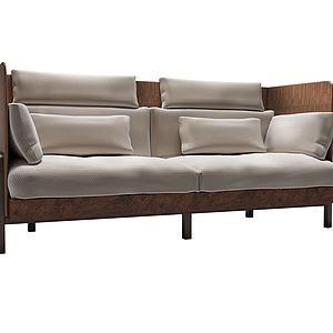 现代双人沙发模型