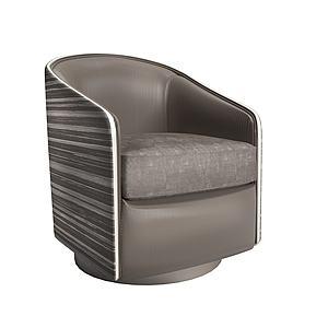 单人沙发沙发椅模型