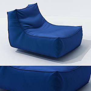单人沙发椅模型