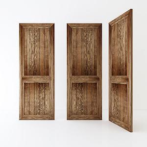 房门组合3d模型