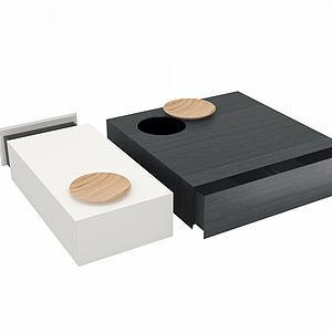 黑白抽屉组合模型
