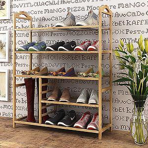 现代鞋架组合模型