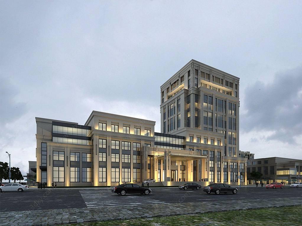 现代酒店大楼