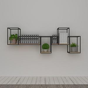 简约时尚边柜模型3d模型