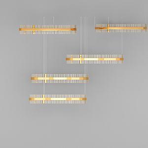 3d創意<font class='myIsRed'>水晶吊燈</font>模型