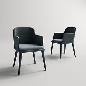 沙发单椅模型