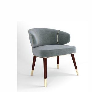 沙发靠背椅模型