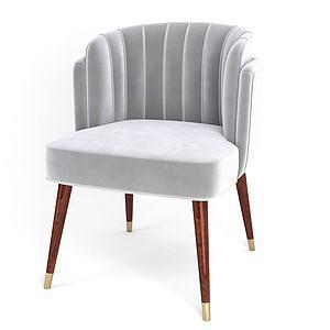 简约沙发椅模型