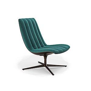沙发转椅模型