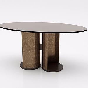 创意餐桌模型