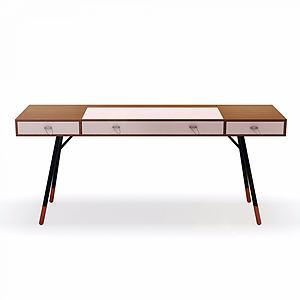 书桌边桌模型