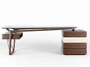 3d书桌?#30340;?font class='myIsRed'>办公桌</font>模型