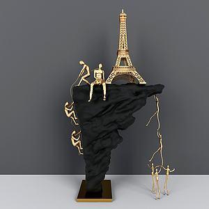 ?#23454;?#32773;雕塑摆件模型