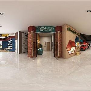 现代商场卖场空间模型3d模型