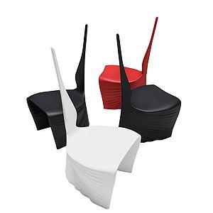 现代风格创意椅子模型