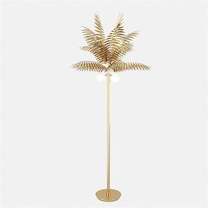 植物造型落地灯模型
