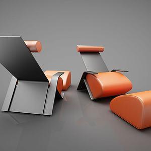 工业风座椅组合模型