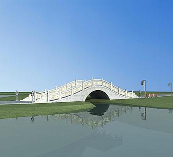 中式石拱桥