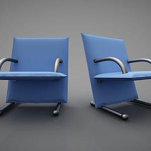 创意椅子组合模型