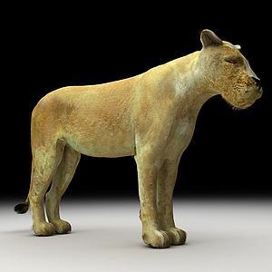 美洲狮模型