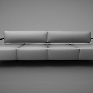 创意靠背沙发模型