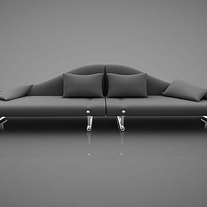 创意双人沙发模型