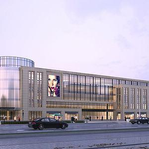 商场大楼模型3d模型