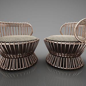 现代椅子模型