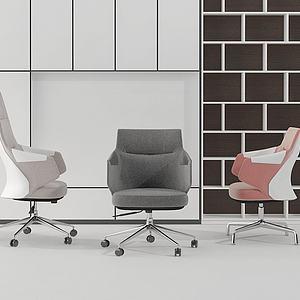 现代?#23478;?#21150;公椅组合模型