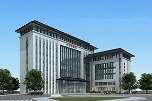 医院大楼模型模型