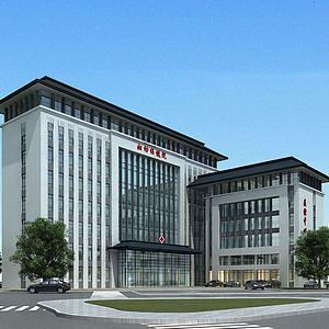 3d医院<font class='myIsRed'>大楼</font>模型