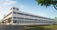 廠房廠區辦公樓3d模型