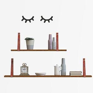 书架装饰架模型