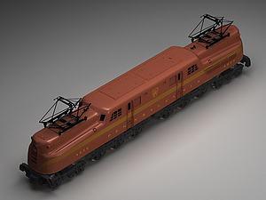 玩具火车模型3d模型