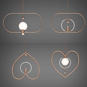 创意吊灯3d模型