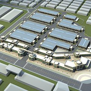 商贸城规划模型