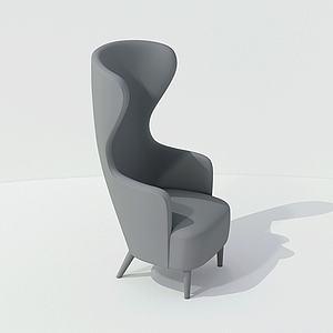不规则椅子模型