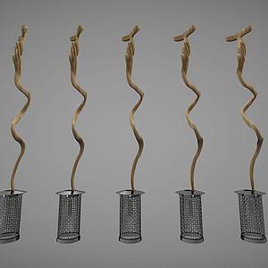 现代风格吊灯模型