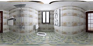 现代卫生间模型3d模型