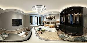 现代风格卧室模型3d模型