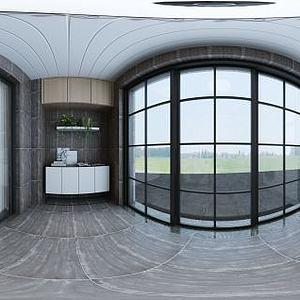 北欧风客厅模型